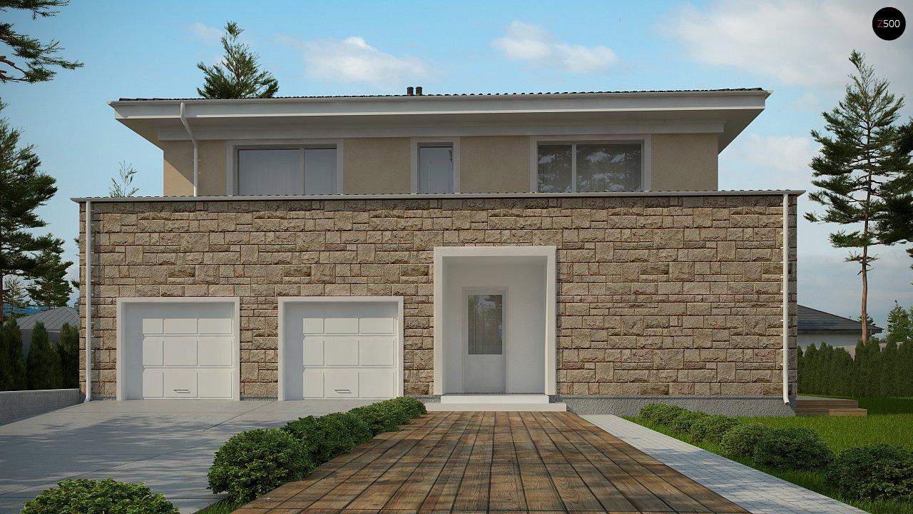 Проект комфортной двухэтажной виллы в традиционном стиле. 2