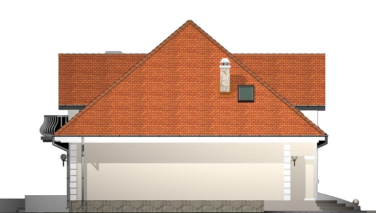 Версия проекта Z18 c кирпичной облицовкой фасадов. - фото 25