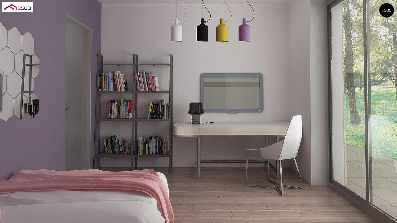 Проект комфортного и функционального одноэтажного дома. - фото 12