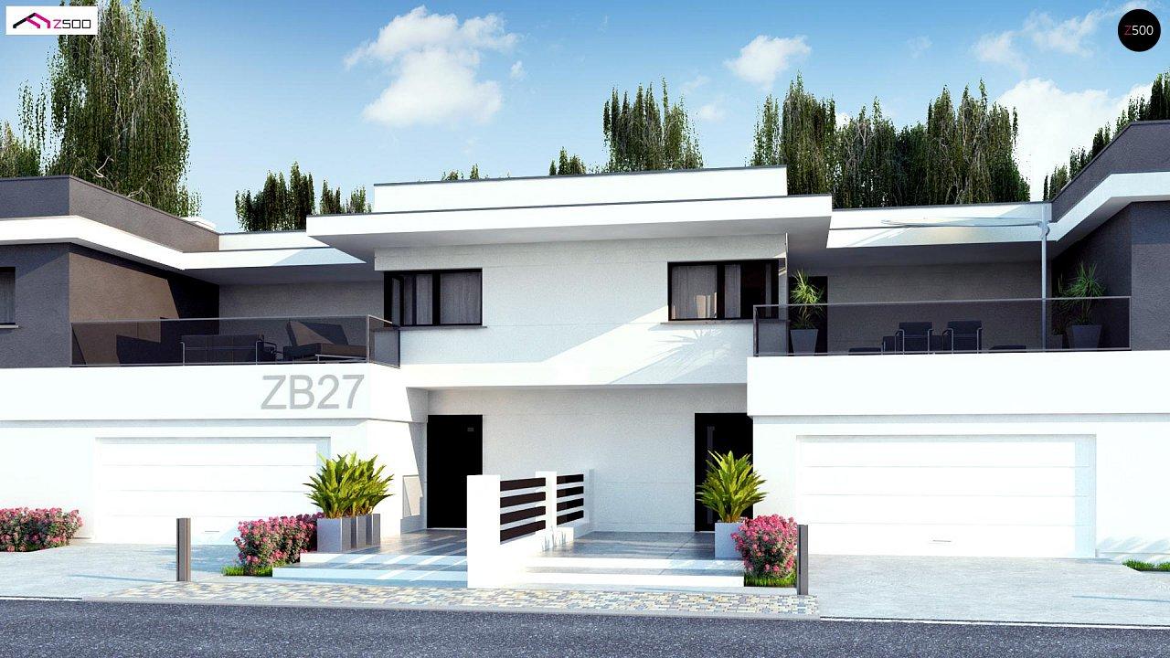 Современный двухсемейный дом с отдельными входами - фото 5