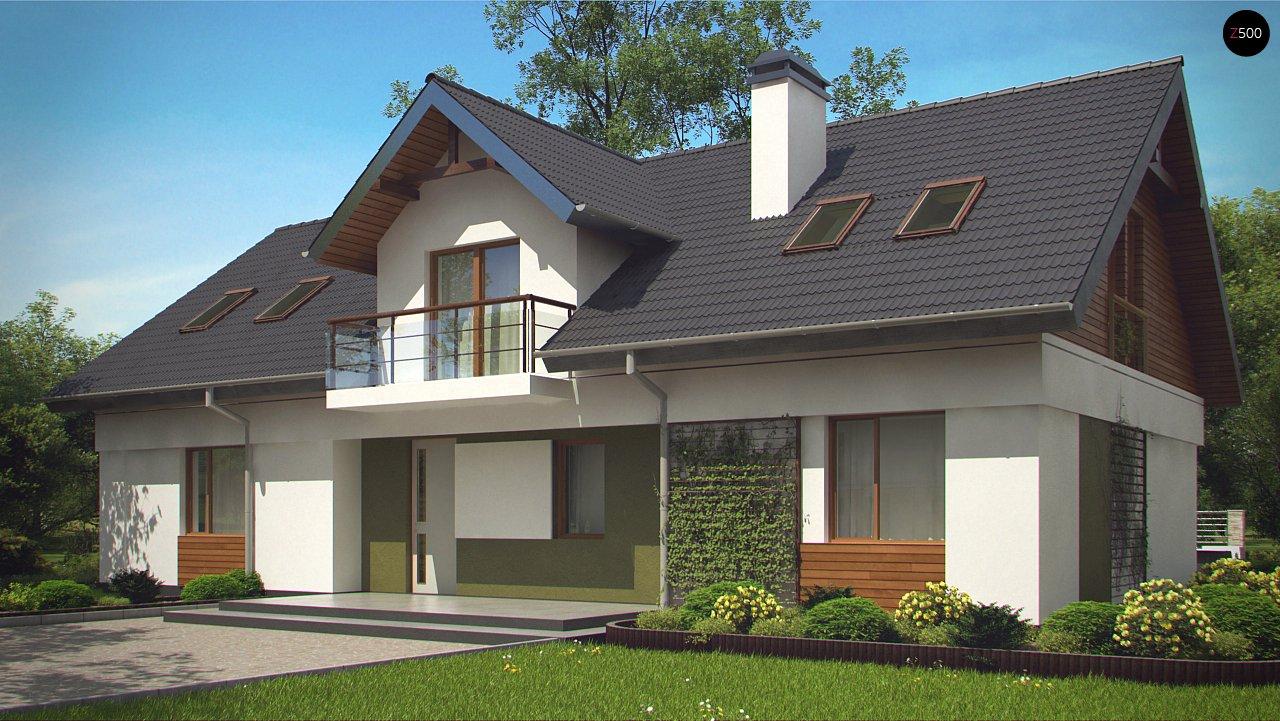 Практичный двухквартирный дом с общими входом и техническим помещением. 3