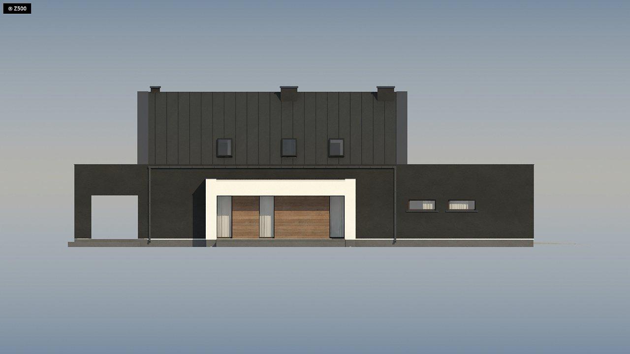 Проект удобного и красивого мансардного дома с гаражом на 2 машини и 3 спальнями. 14