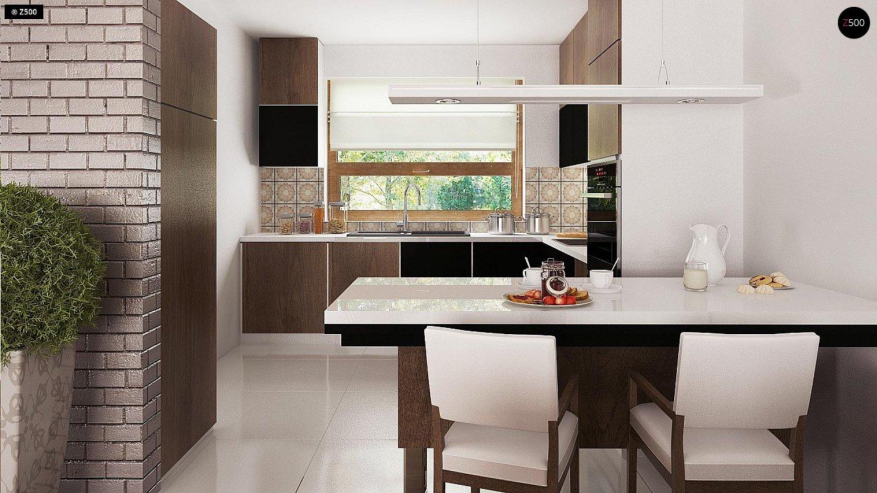 Практичный одноэтажный дом с большим гаражом, просторной гостиной и двумя спальнями. 8