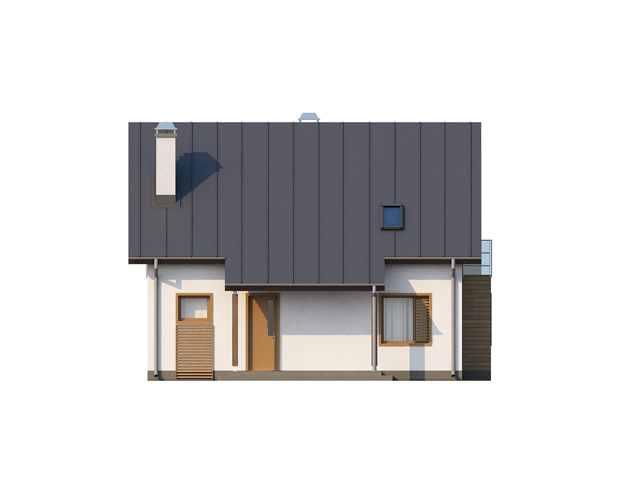 Компактный и функциональный дом с кабинетом на первом этаже и с эркером в обеденной зоне. 6