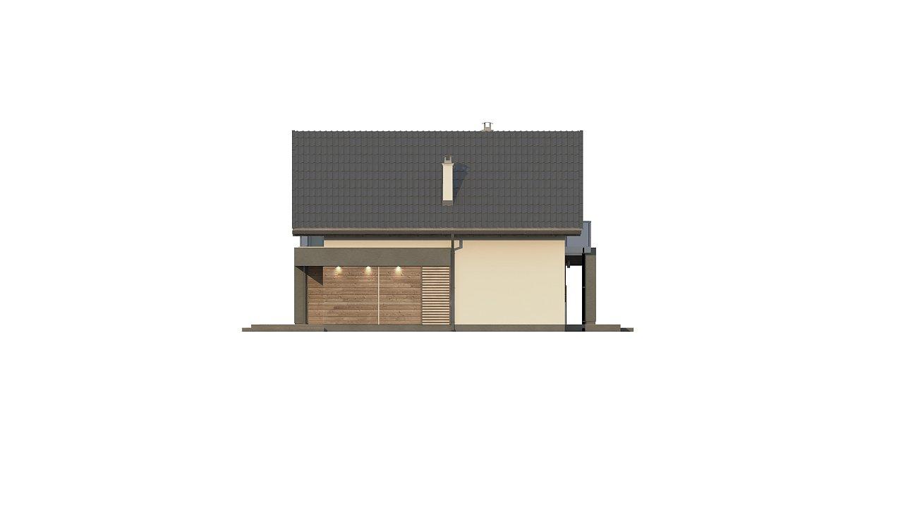 Компактный и удобный дом традиционной формы, подходящий, также, для узкого участка. 15