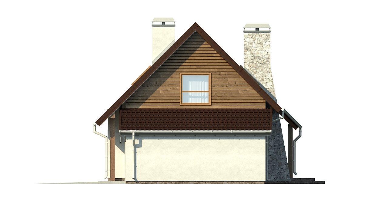 Версия проекта Z79 с гаражом с правой стороны. 23