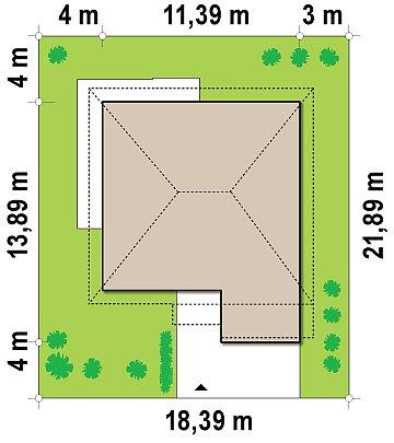 Проект Zx7 адаптированный под сейсмику план помещений 1