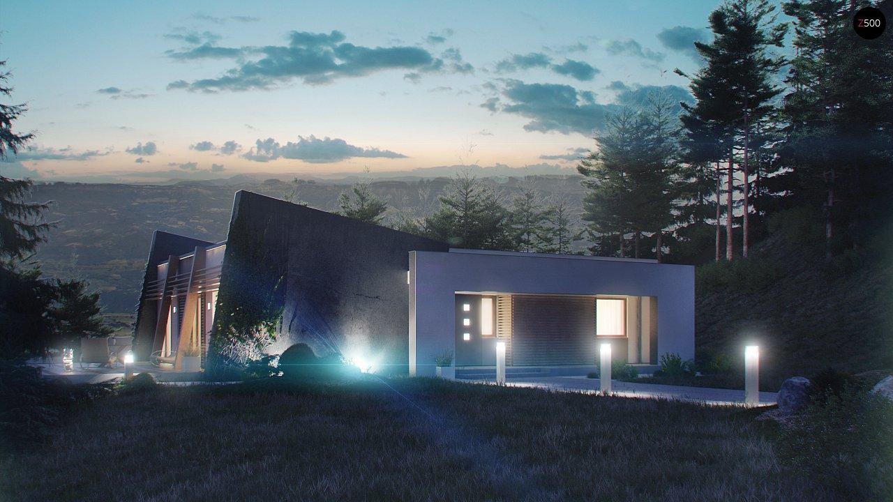 Одноэтажный дом исключительного современного дизайна. - фото 10