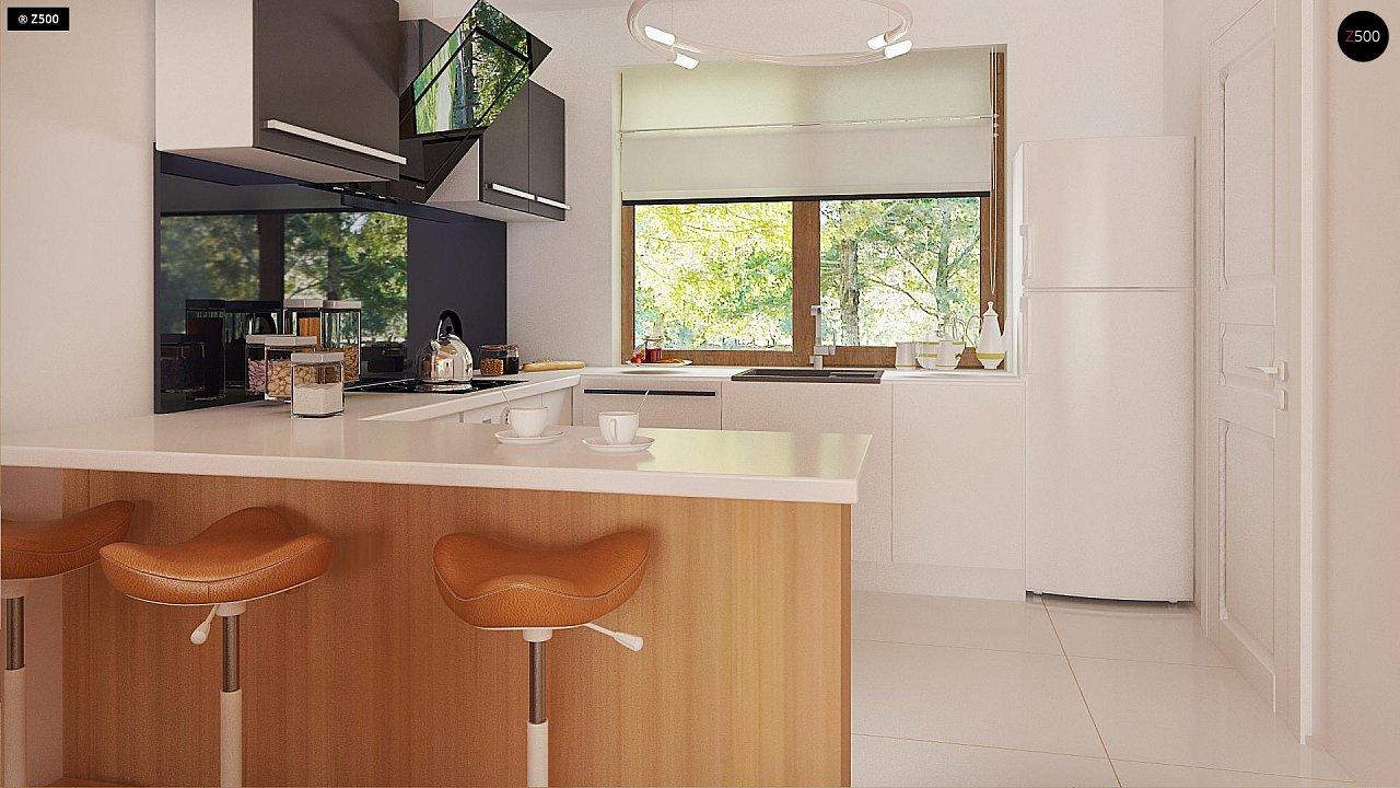 Проект одноэтажного классического дома адаптированного для каркасной технологии строительства. - фото 9