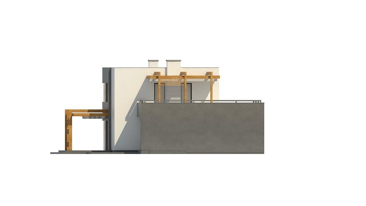 Двухэтажный коттедж современного лаконичного дизайна 12