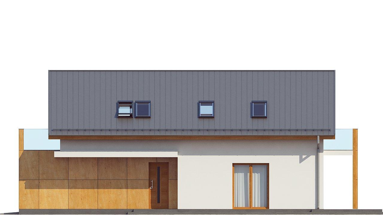 Практичный и уютный дом, идеально подходящий для вытянутого участка. 15