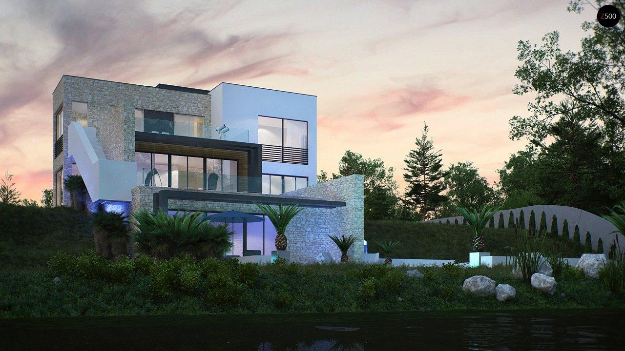 Трехэтажная современная резиденция с террасами и бассейном . 6