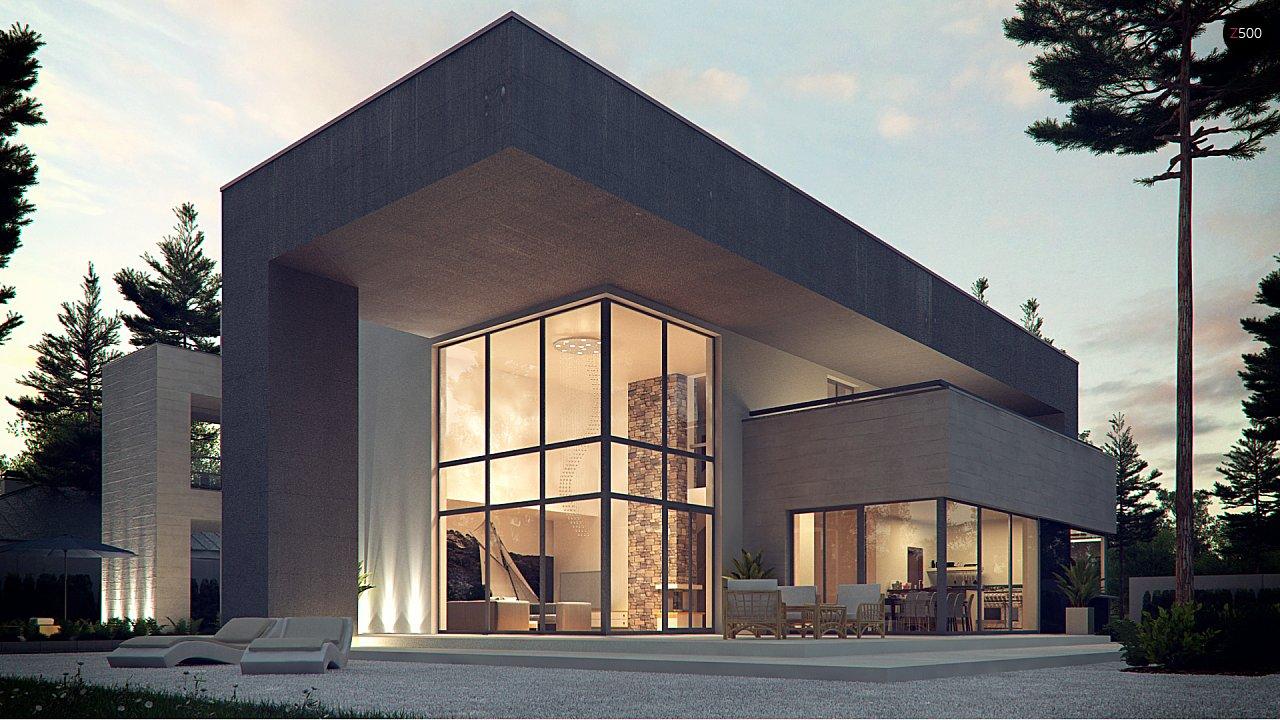 Комфортный современный двухэтажный особняк с сауной на втором этаже - фото 1