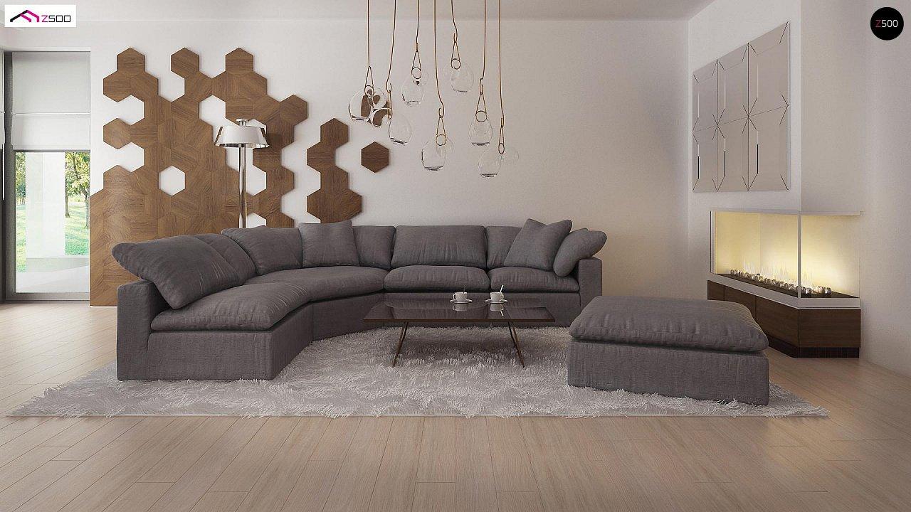 Комфортный современный дом со светлым и уютным интерьером. 5