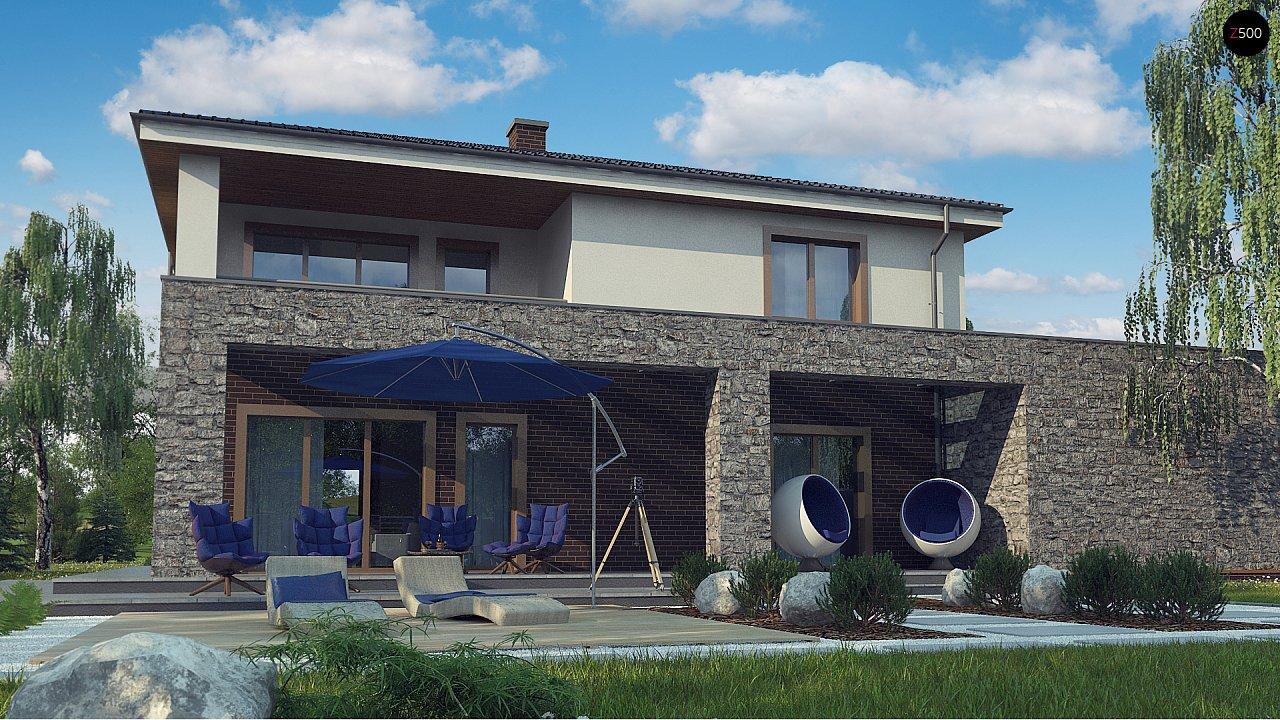 Проект дома с сауной в традиционном стиле - фото 5
