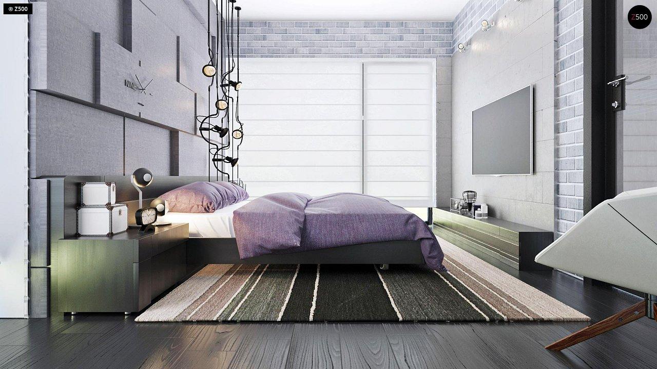 Проект функциональный двухэтажный дом с 4 спальнями и подвалом. - фото 23