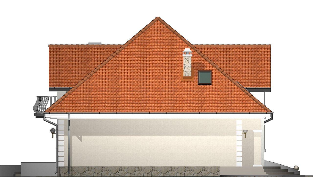 Проект красивого мансардного дома, адаптированный для каркасной технологии 25