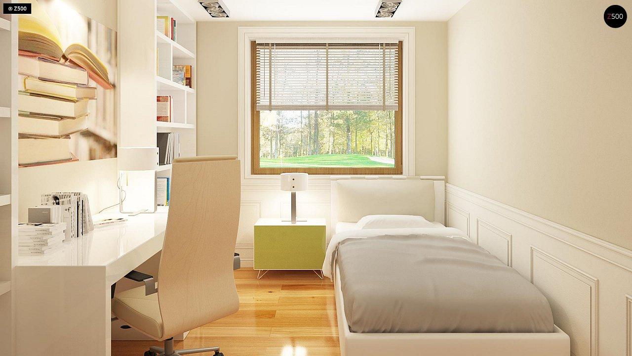 Проект традиционного дома с возможностью адаптации чердачного помещения. 9