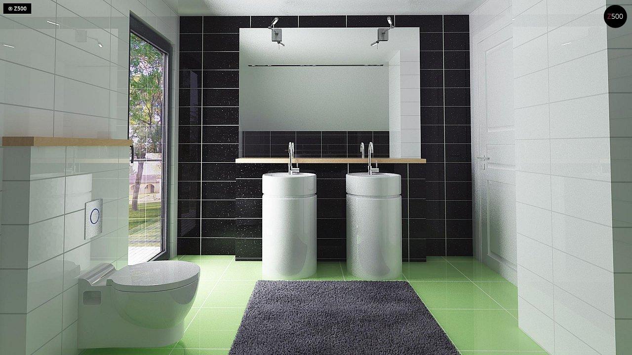 Компактный и удобный дом традиционной формы, подходящий, также, для узкого участка. 12