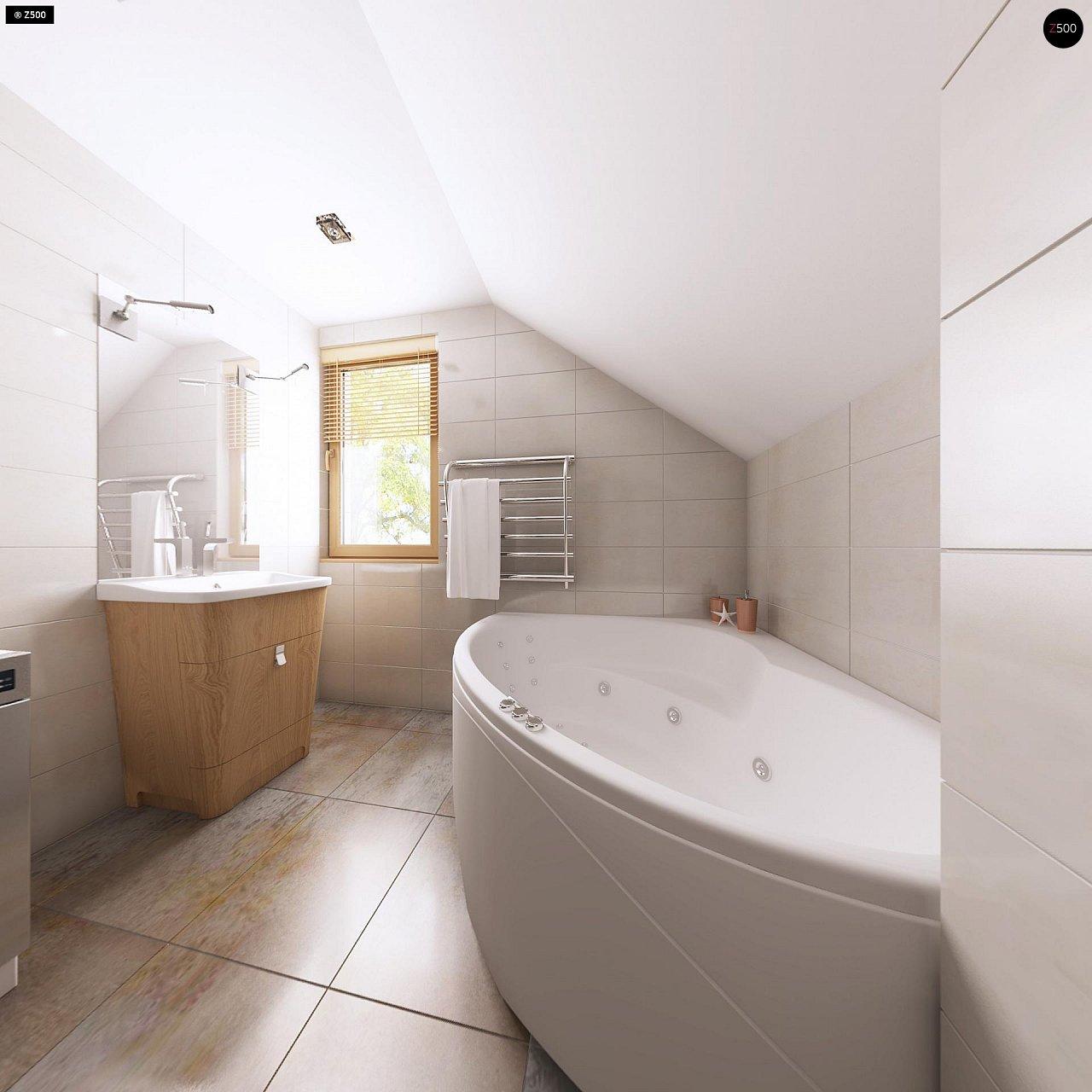 Очаровательный и практичный дом с мансардой в традиционном стиле. 15