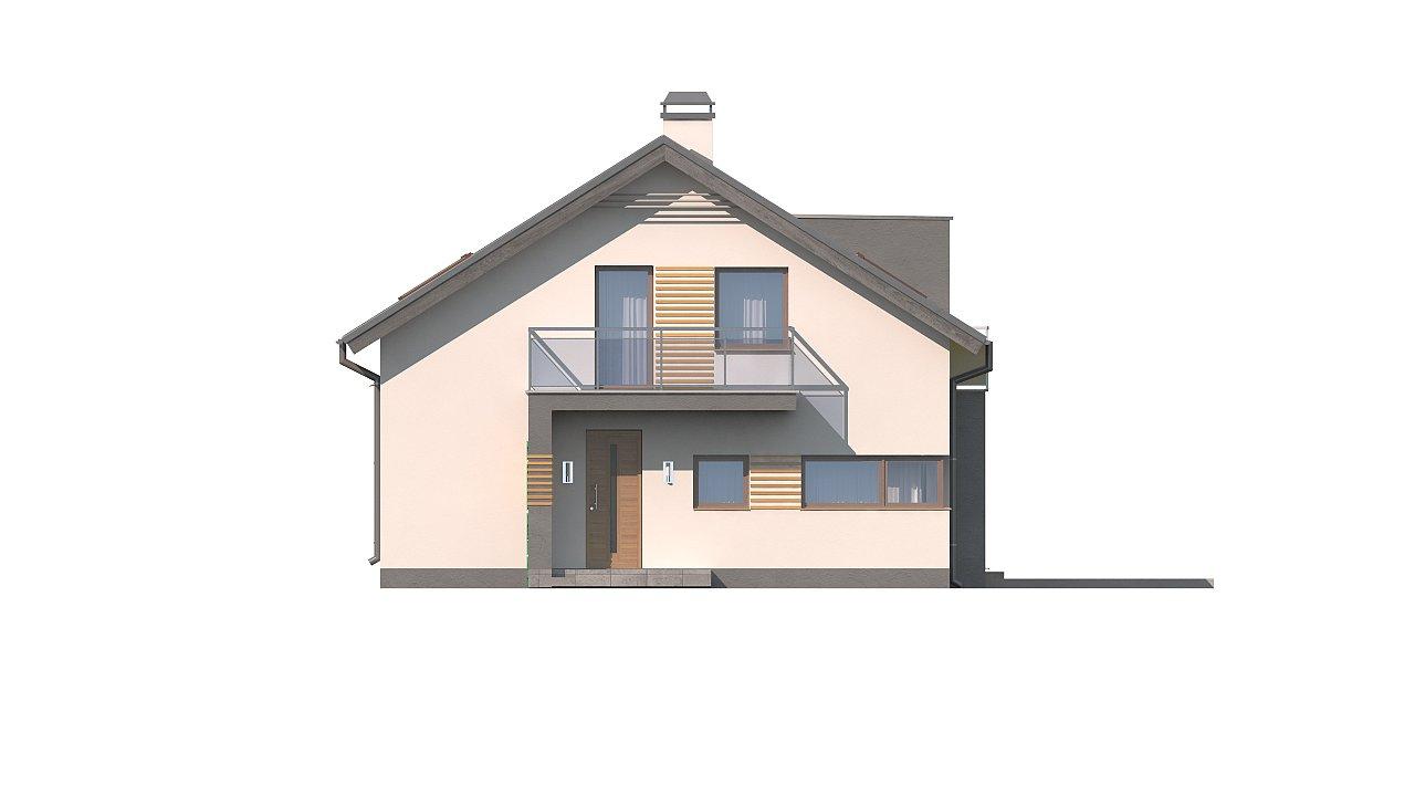 Дом традиционной формы с современными элементами в архитектуре. Уютный и функциональный интерьер. - фото 15