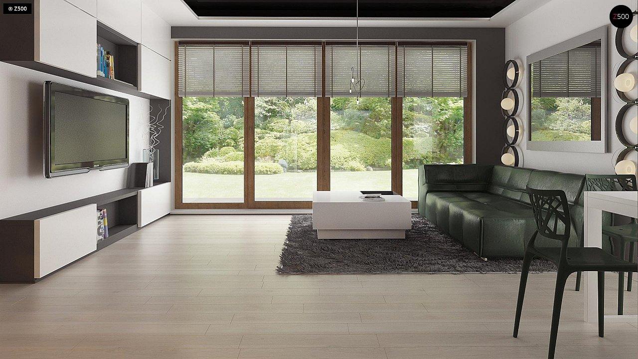 Дом традиционной формы с современными элементами в архитектуре. Уютный и функциональный интерьер. - фото 6