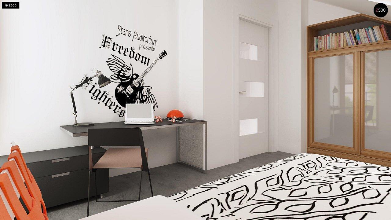 Компактный, аккуратный и стильный дом с двумя спальнями. - фото 10