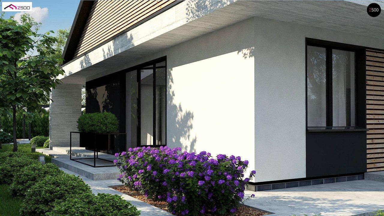 Проект дома с современным дизайном и одноуровневым функциональным интерьером. - фото 4