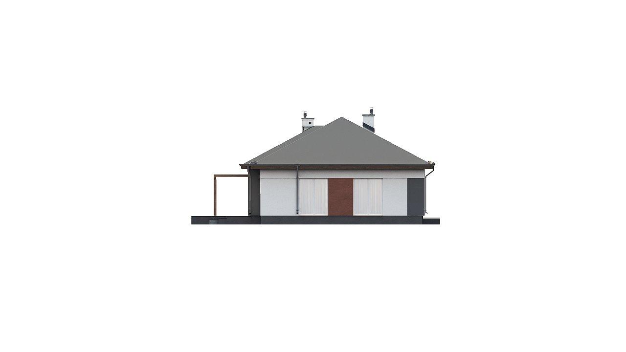 Комфортный одноэтажный дом в традиционном стиле. 7