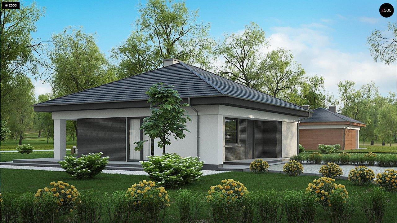 Проект компактного и функционального одноэтажного дома 6