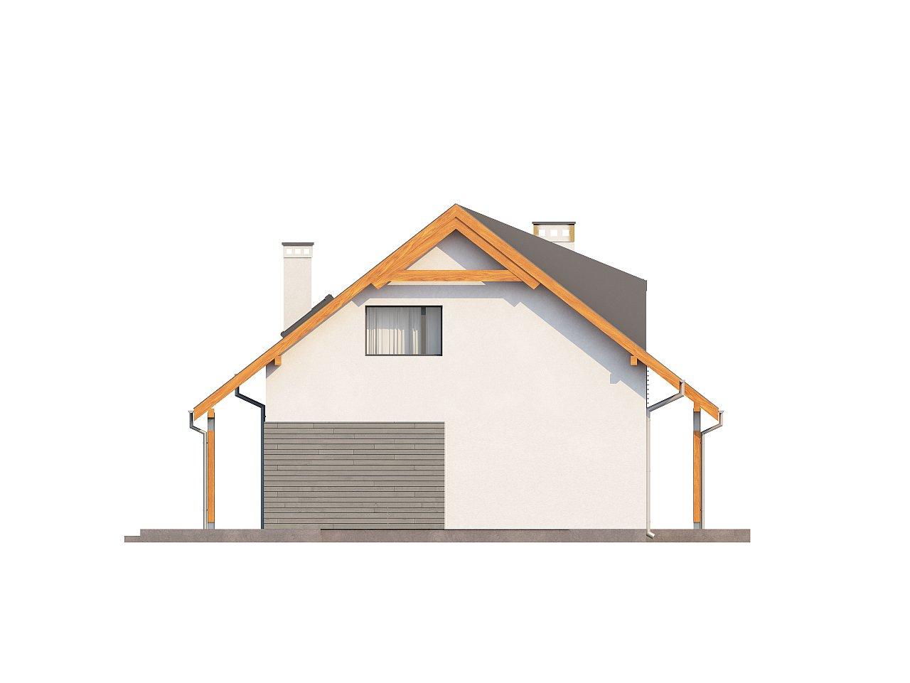 Проект небольшого практичного дома, выгодного в строительстве и эксплуатации. - фото 5