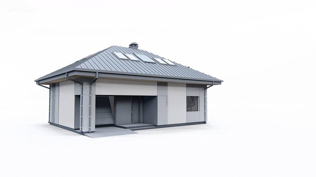 Двухэтажный дом с мансардой 6