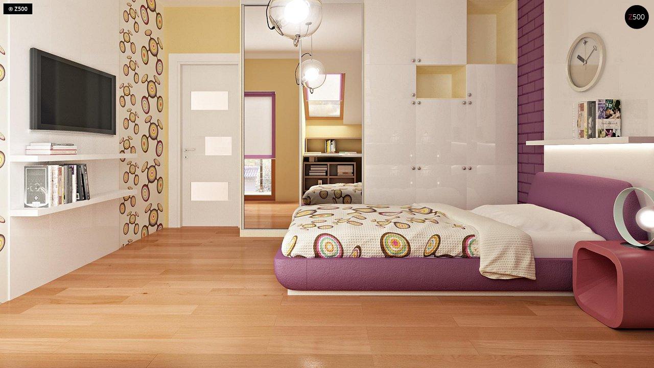 Проект стильного, функционального и недорогого двухсемейного дома. 9