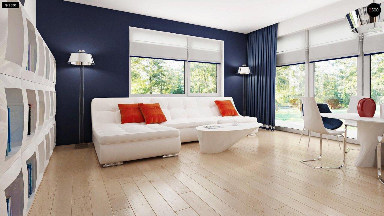Дом с мансардным этажом, адаптированный для сейсмоопасных регионов. 5