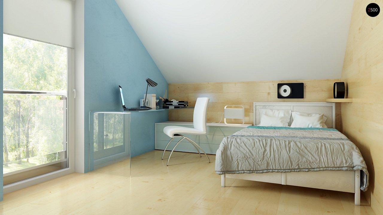 Компактный односемейный дом с дополнительной спальней на первом этаже. 17