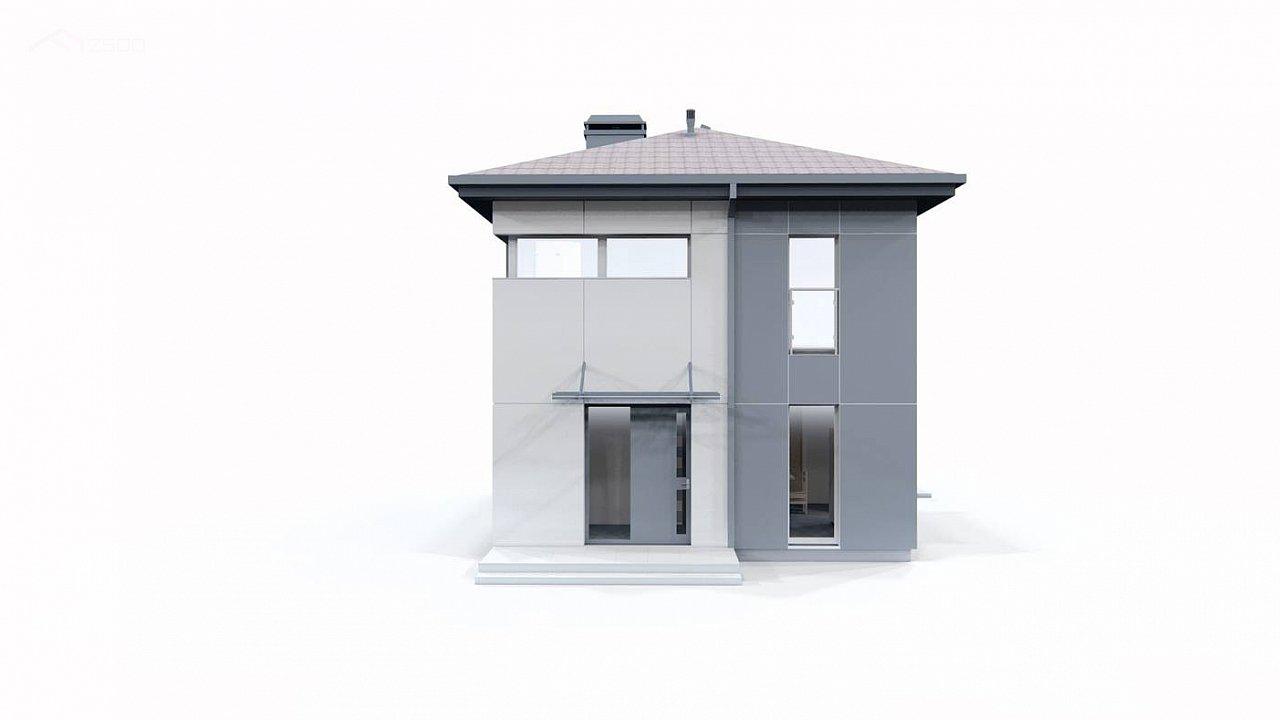 Современный проект дома с 3 спальнями 9