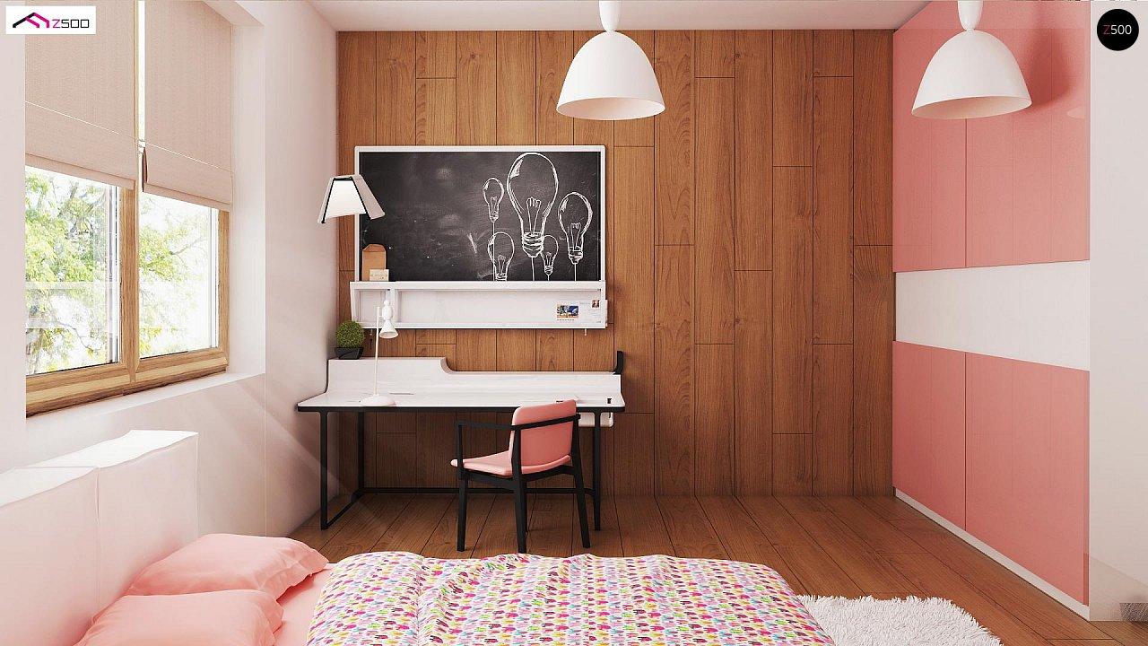 Выгодный и простой в строительстве дом полезной площадью 100 м2. 8