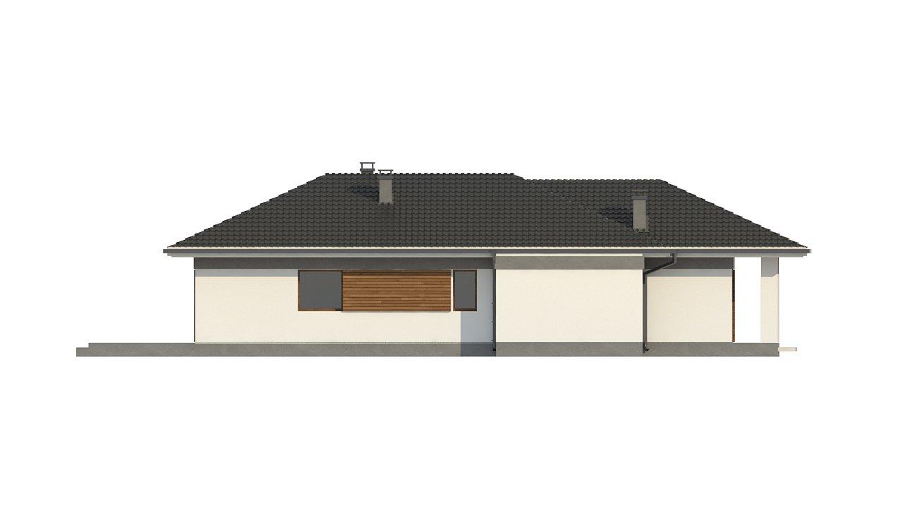 Проект уютного одноэтажного дома с 3 спальнями 8