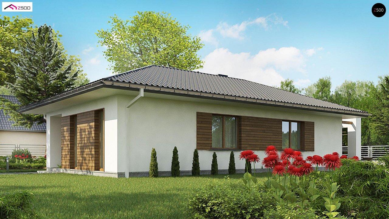 Одноэтажный функциональный дом для небольшой семьи - фото 5