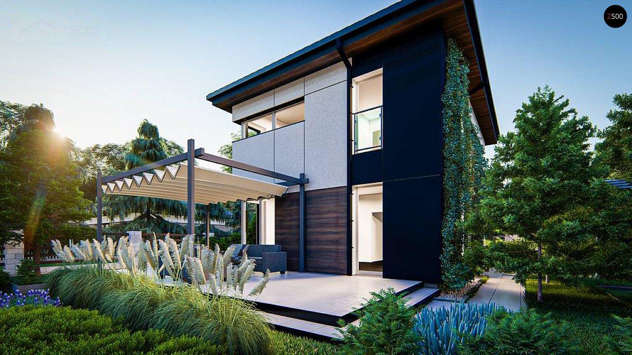 Современный проект дома с 3 спальнями 7