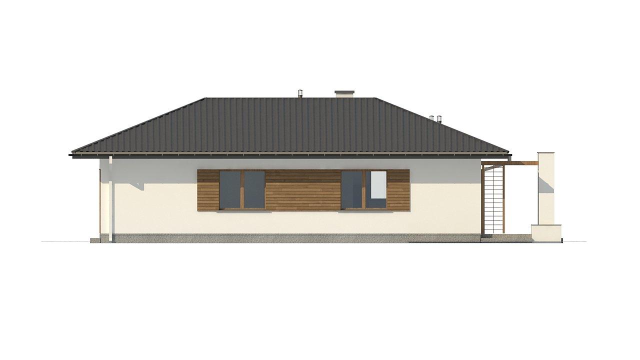 Одноэтажный функциональный дом для небольшой семьи - фото 10