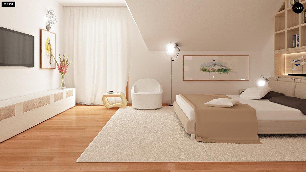 Проект стильного, функционального и недорогого двухсемейного дома. 15