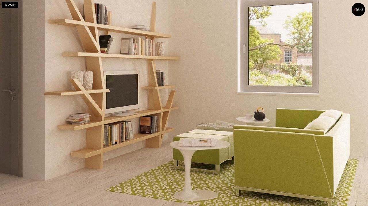 Традиционный практичный дом с современными элементами архитектуры. 4