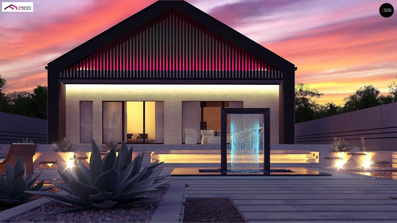 Современный одноэтажный дом с грамотной удобной планировкой 5