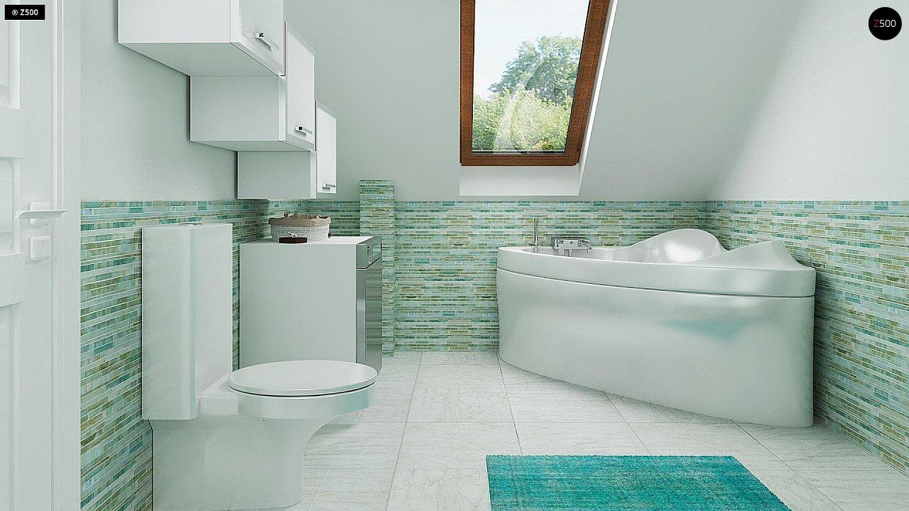 Дом традиционной формы с современными элементами в архитектуре. Уютный и функциональный интерьер. - фото 13