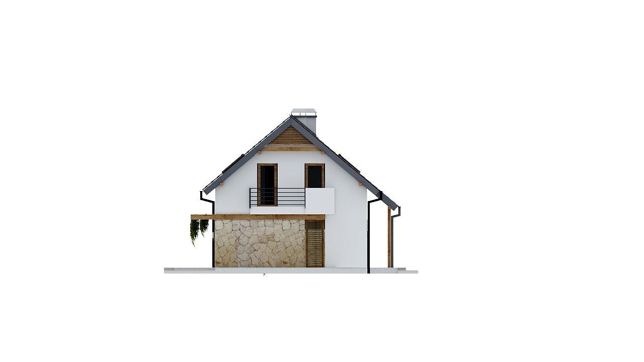 Практичный аккуратный дом с мансардой, с удобной функциональной планировкой. 23