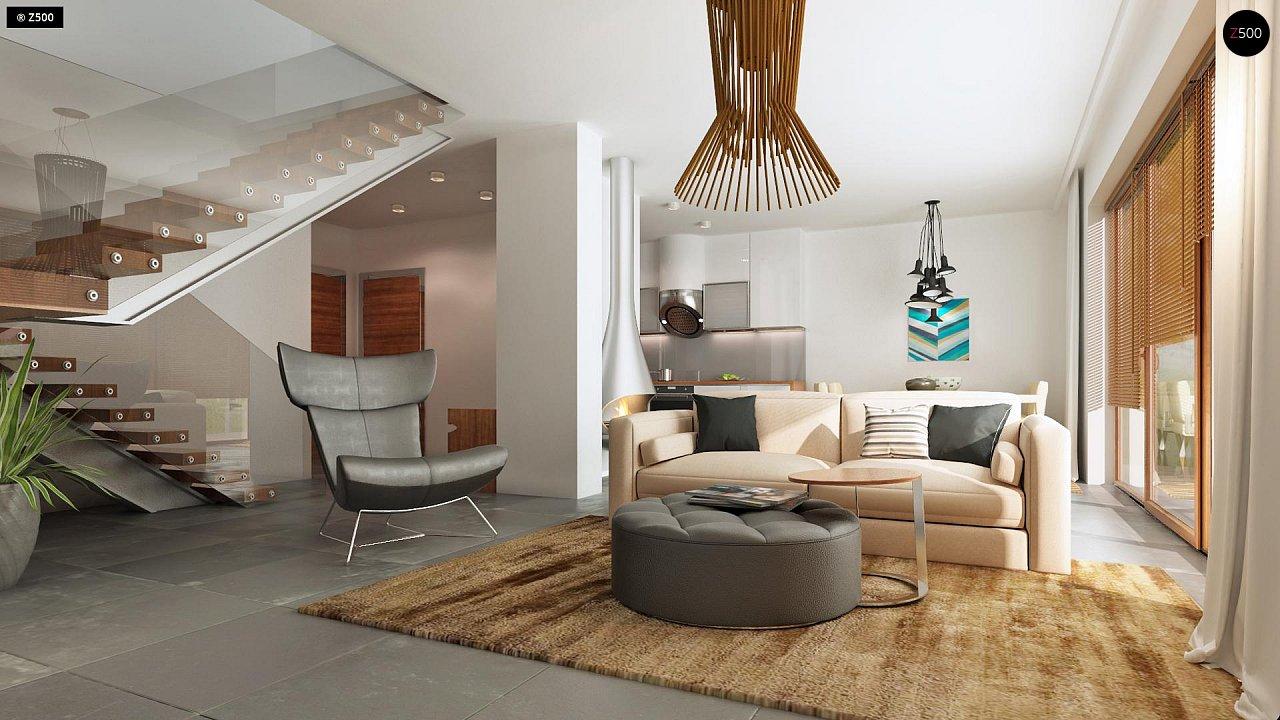 Дома близнецы стильного современного дизайна. 4