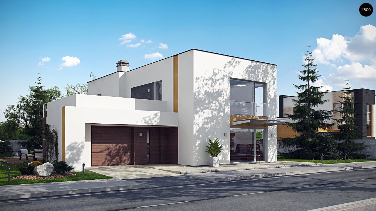 Комфортный современный дом с дополнительным помещением для коммерческого использования. - фото 3