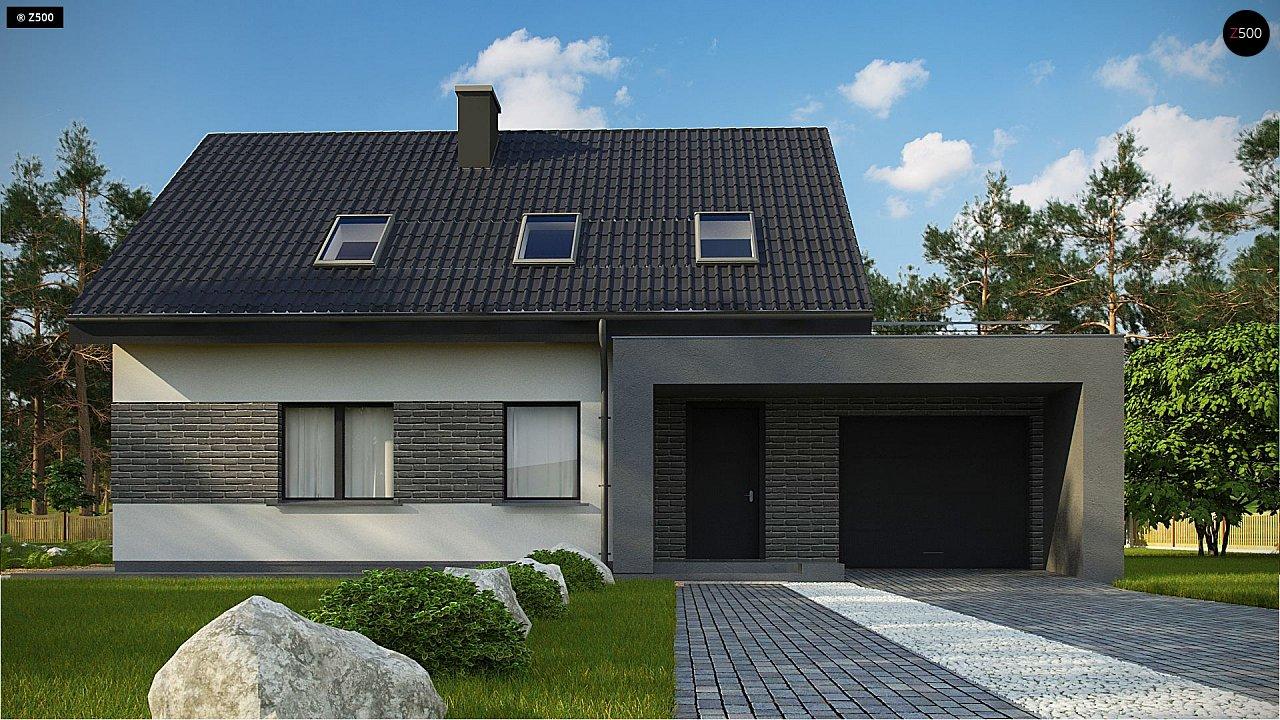 Проект комфортного дома в современном европейском стиле. 2