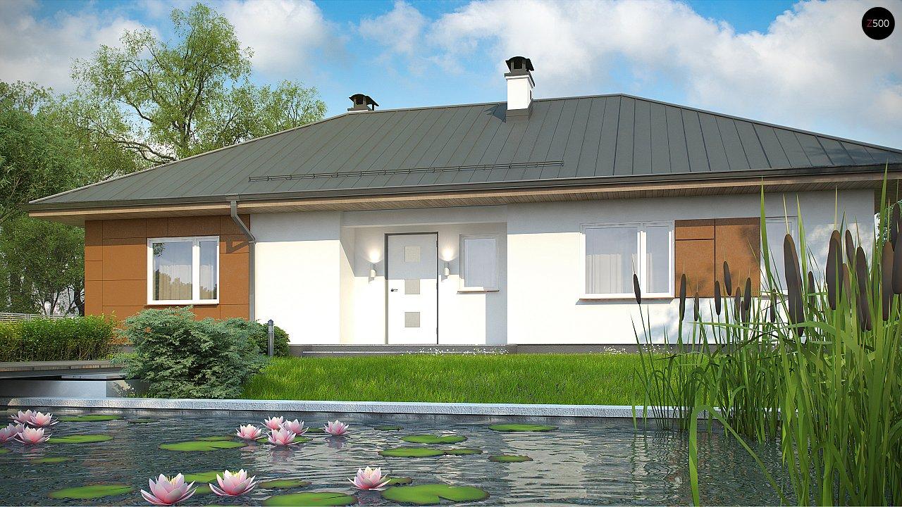 Комфортный одноэтажный дом в традиционном стиле. 8